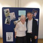 Chairman Sheila Doak with President Trevor Pinnock